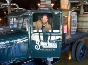 Brent Thompson with Sugarlands Distilling Company