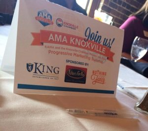 2014 KAMA Summit Sponsors - King University, Nothing Too Fancy and Puleo's Grille