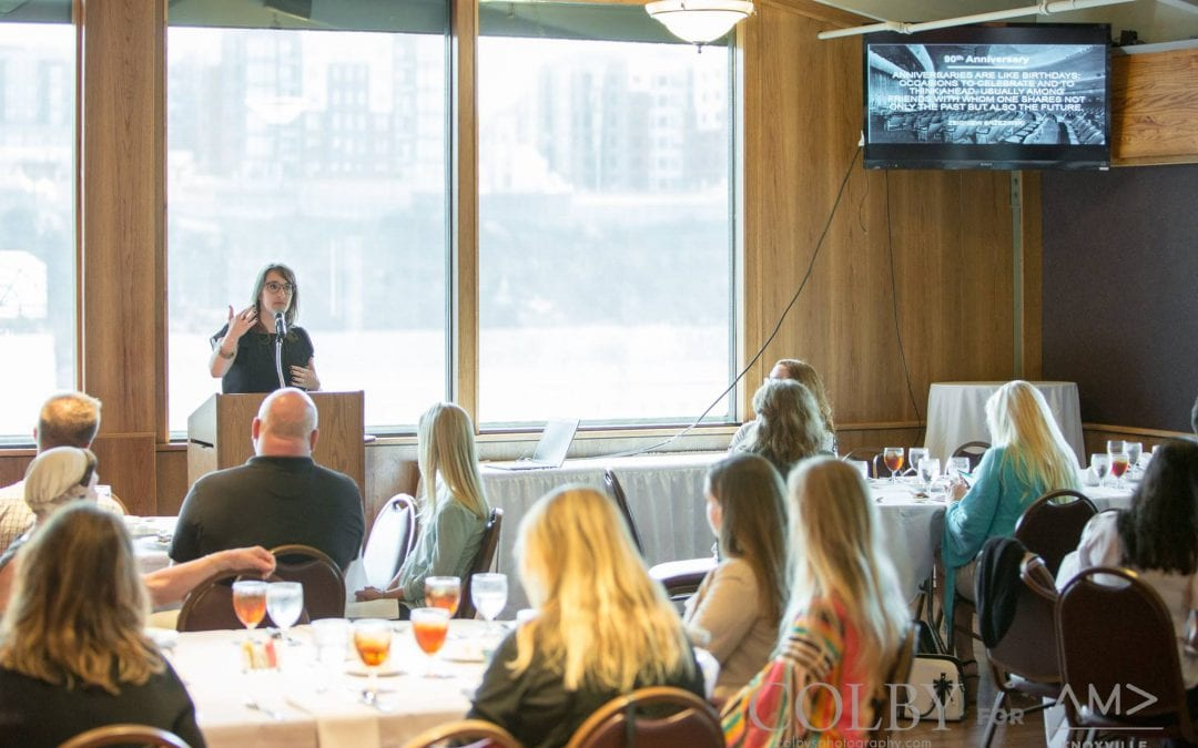 October Luncheon: Making the Most of a Milestone