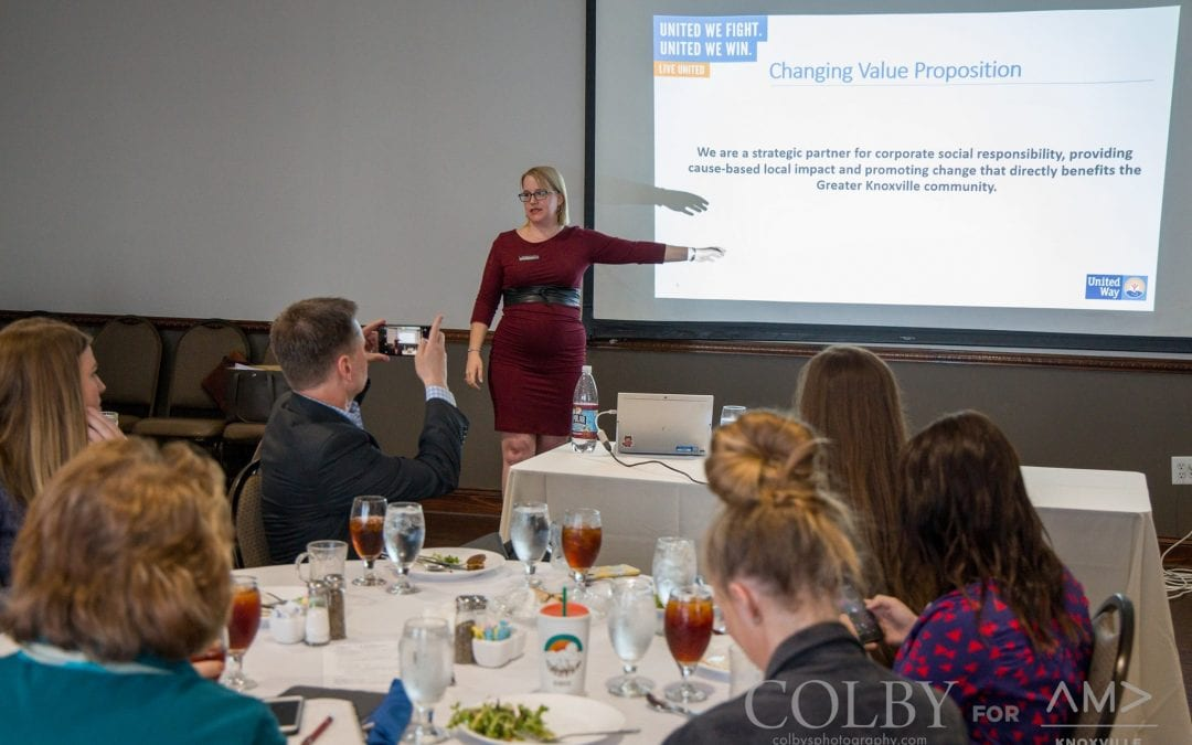 Knoxville October Luncheon: Becoming the Modern United Way