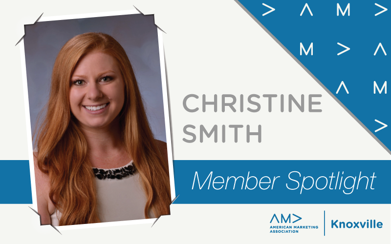 AMA Knoxville Member Spotlight: Christine Smith