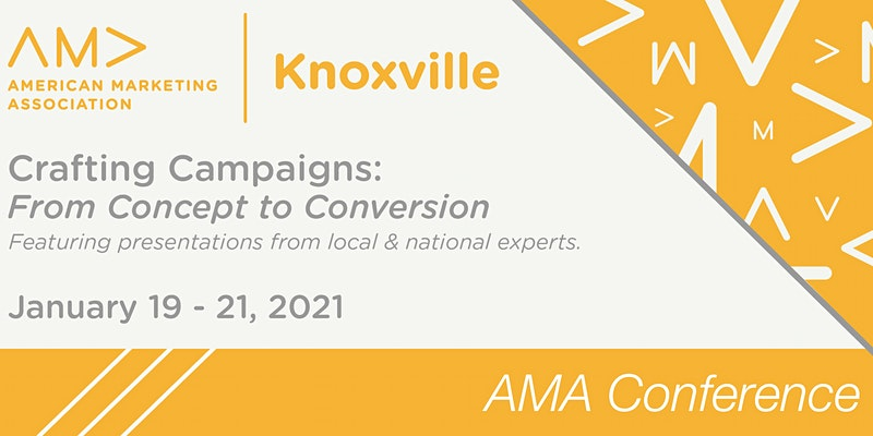 Crafting Campaigns: From Concept to Conversion AMAK Virtual Conference